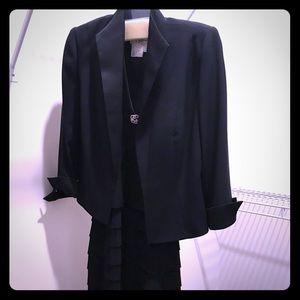 Black formal dress with blazer!